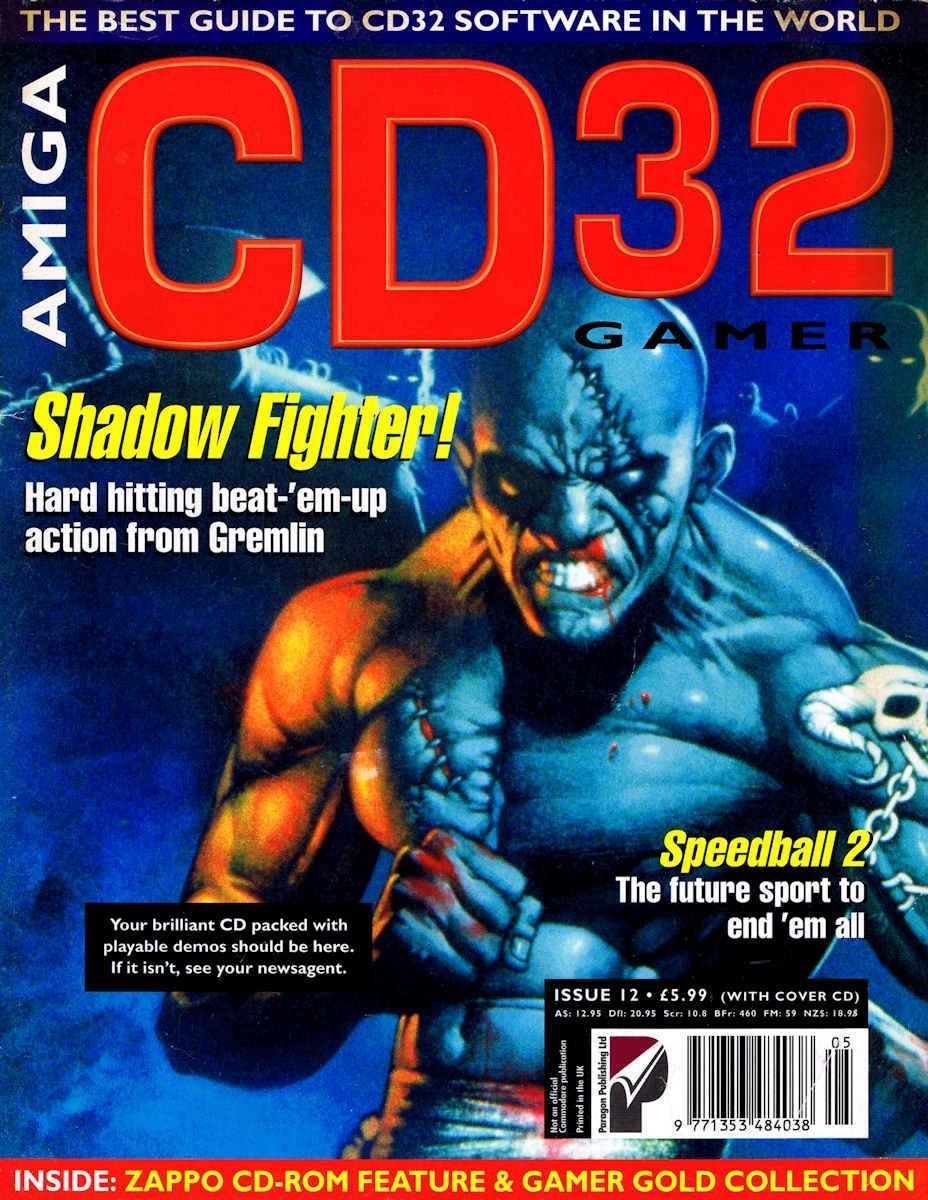 Amiga CD32 Gamer Issue 12 May 1995