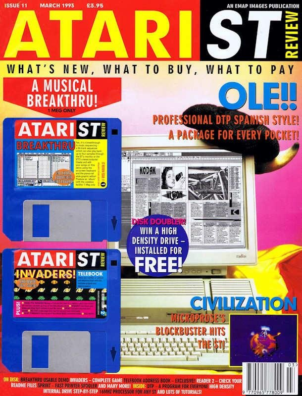 Atari ST Review Issue 011