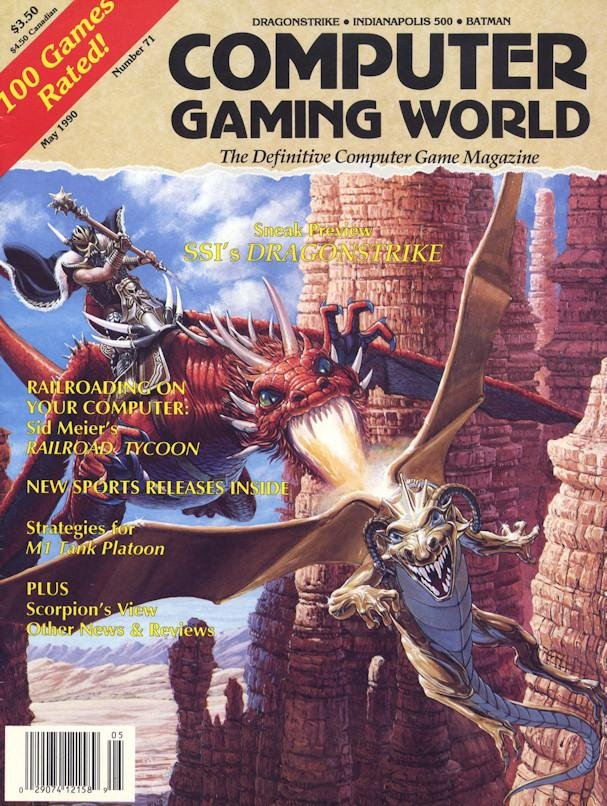 Computer Gaming World Issue 071 May 1990