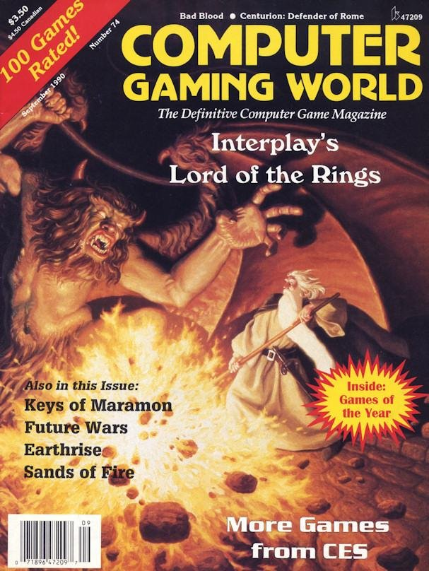 Computer Gaming World Issue 074 August 1990