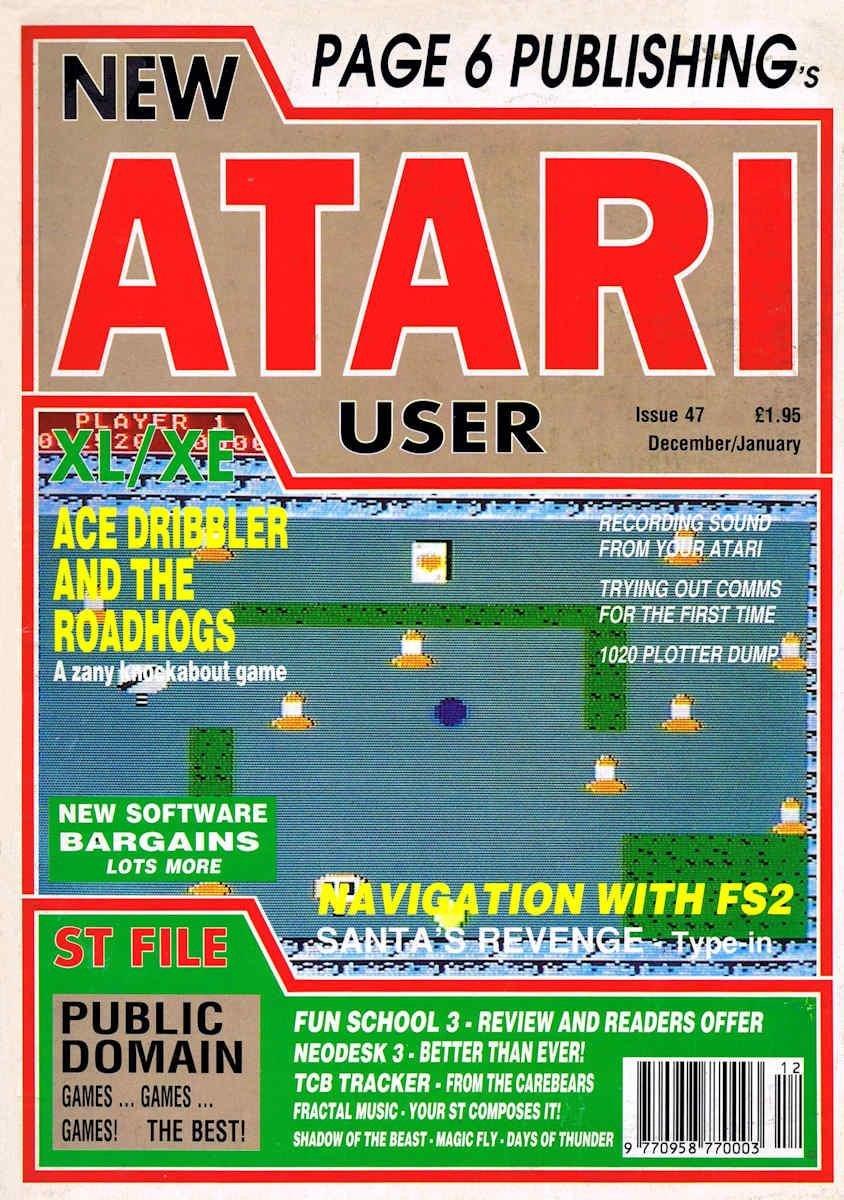 New Atari User Issue 047
