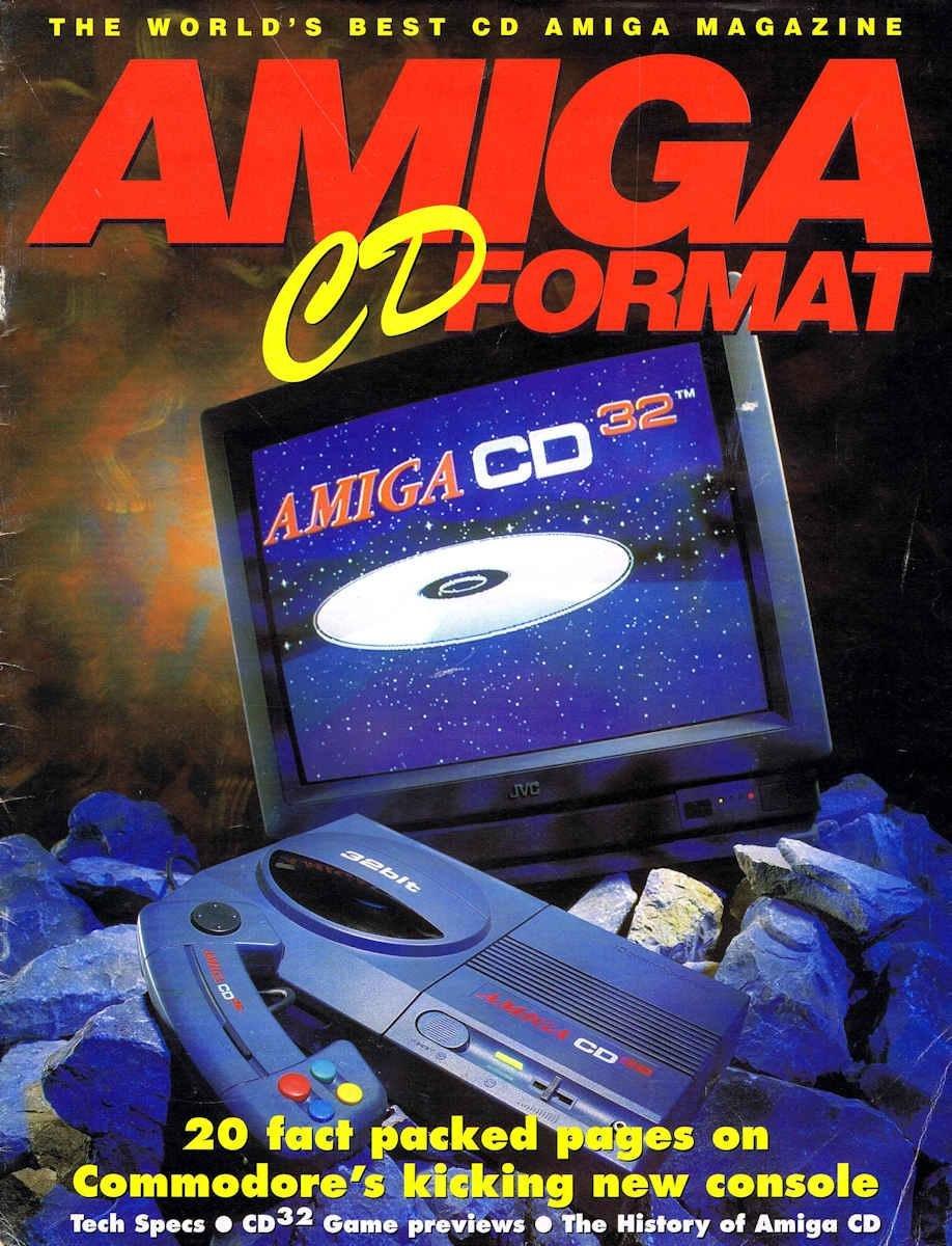 Amiga CD Format
