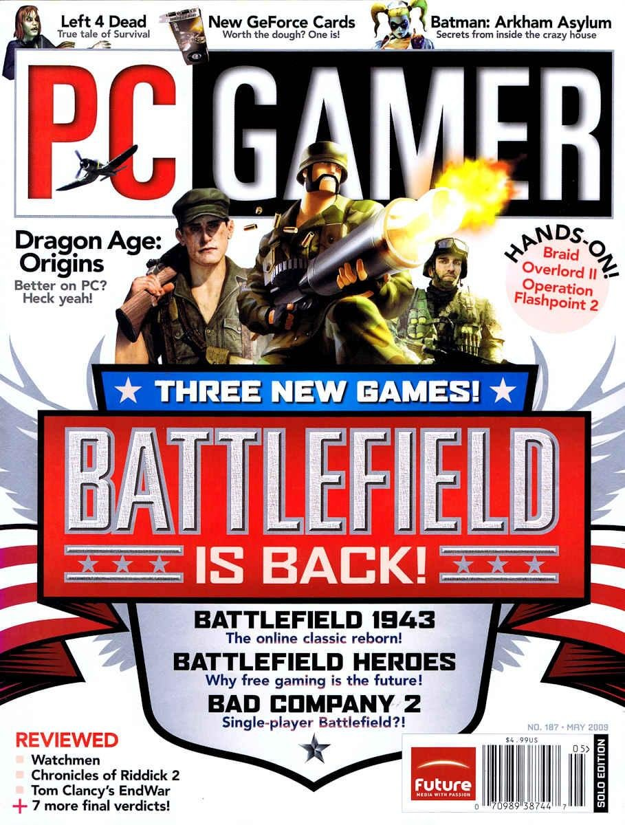 PC Gamer Issue 187