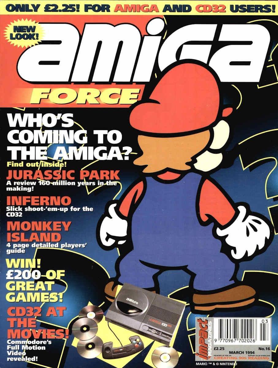 Amiga Force issue 16