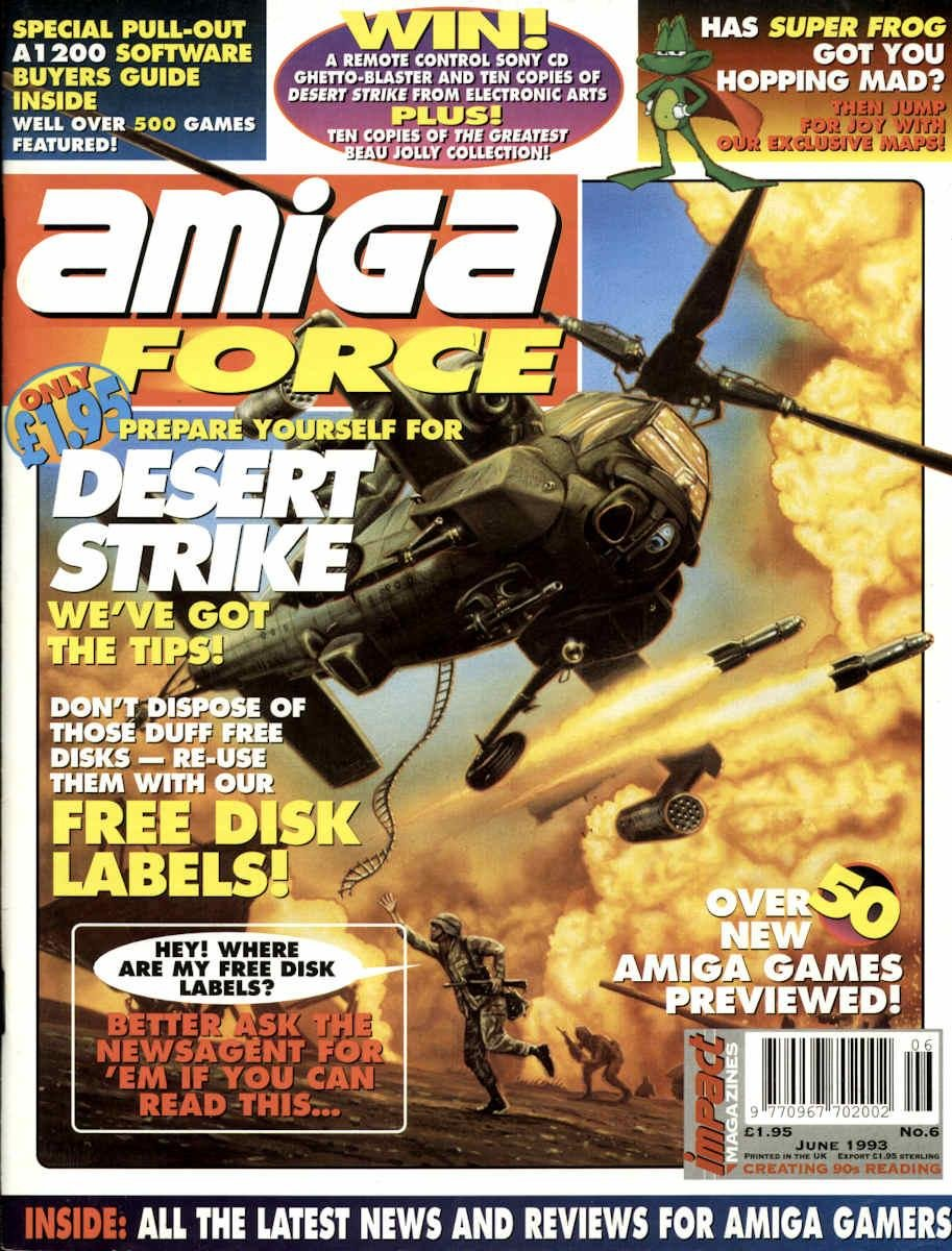Amiga Force Issue 06