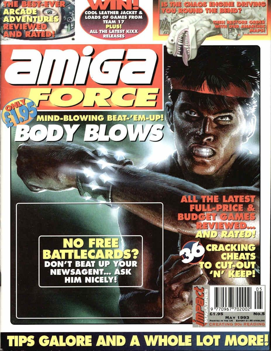Amiga Force Issue 05