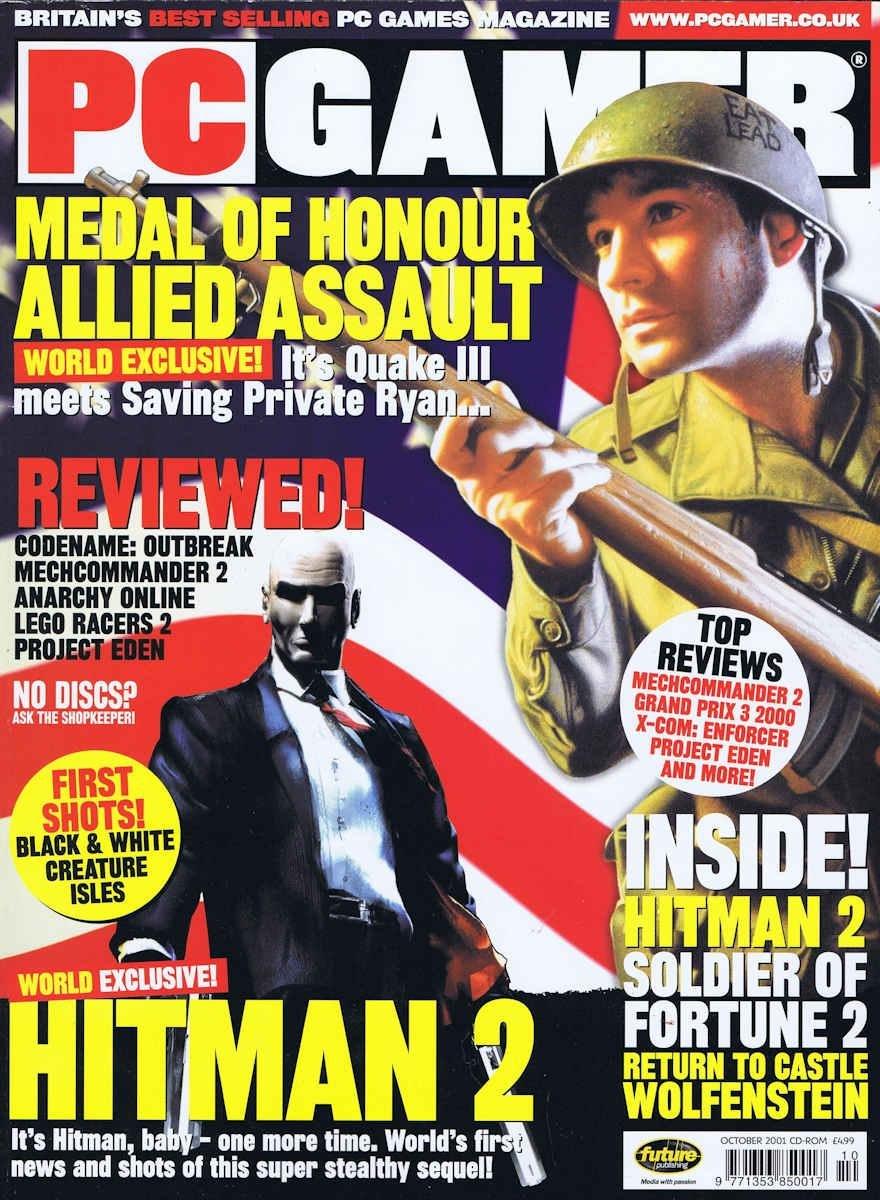 PC Gamer UK 101 October 2001