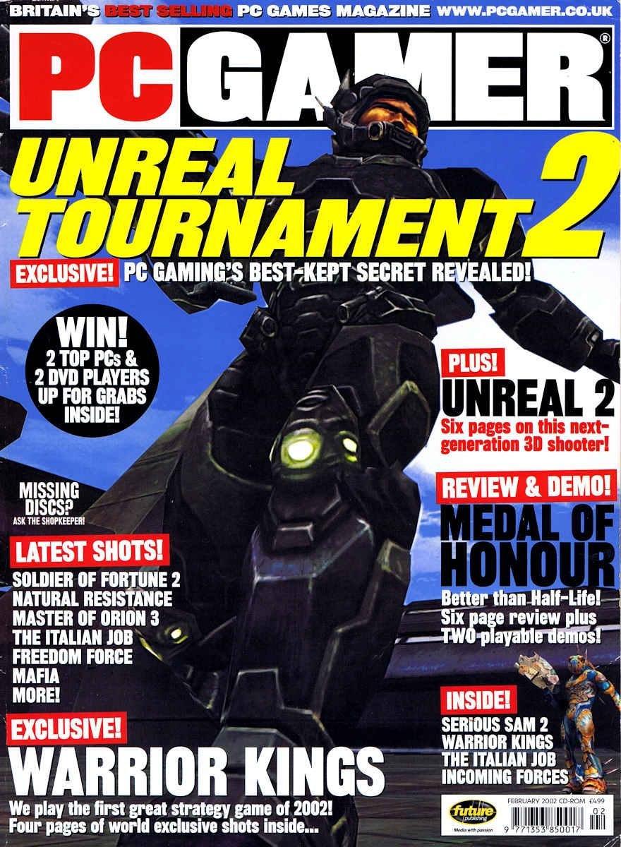 PC Gamer UK 106 February 2002