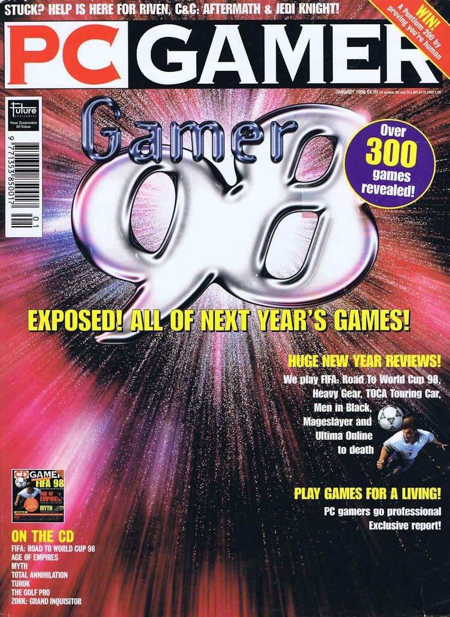 PC Gamer UK 052 January 1998