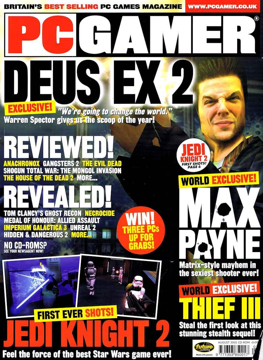PC Gamer UK 099 August 2001