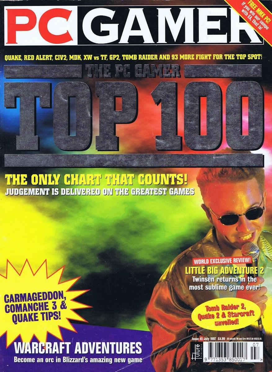 PC Gamer UK 045 July 1997