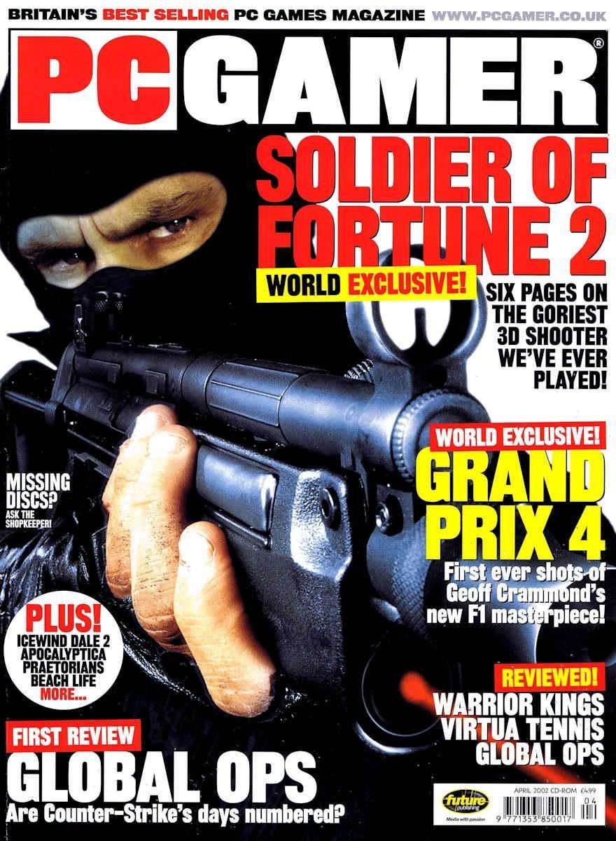 PC Gamer UK 108 April 2002