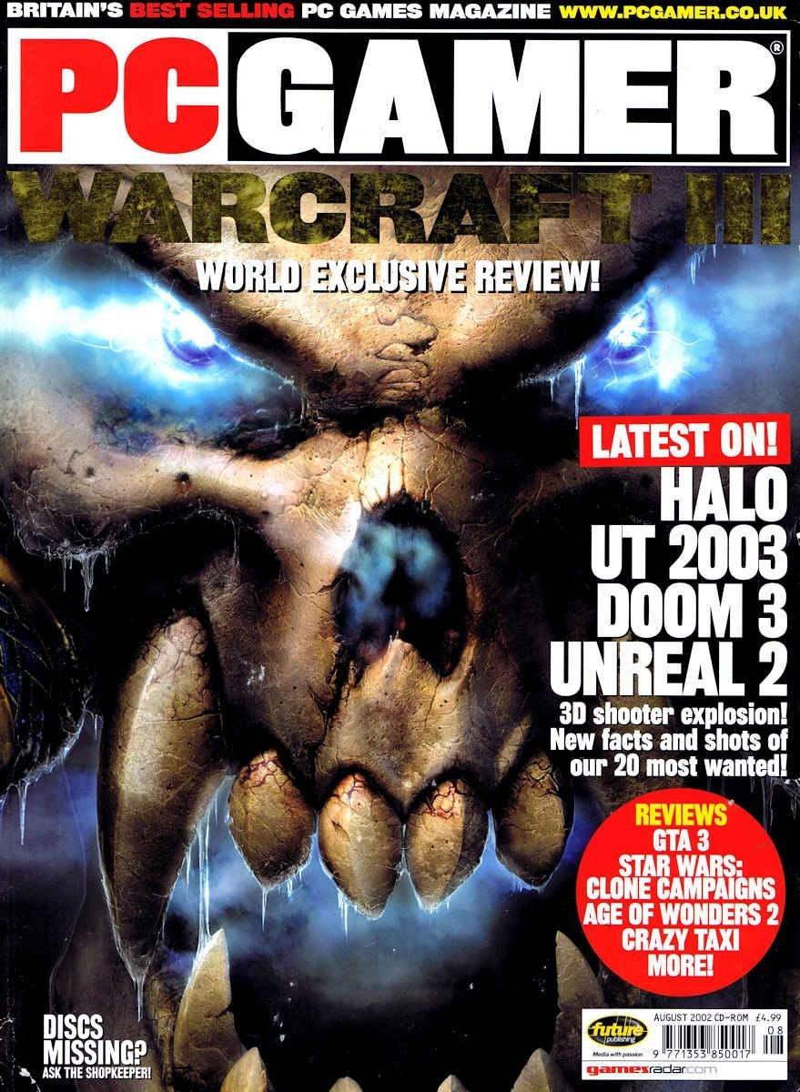 PC Gamer UK 112 August 2002 (CD-ROM edition)