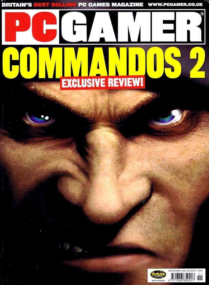 PC Gamer UK 102 November 2001