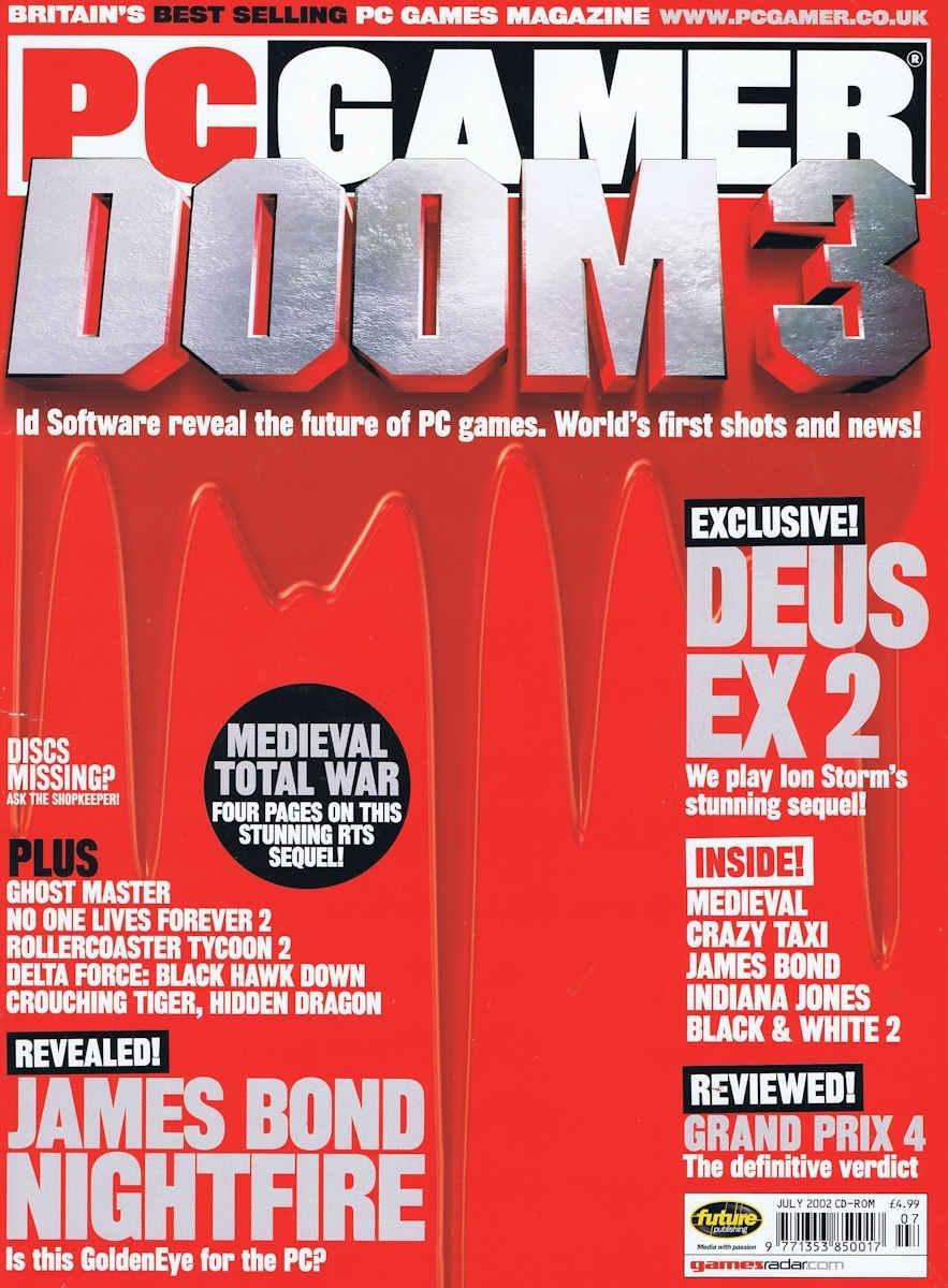 PC Gamer UK 111 July 2002
