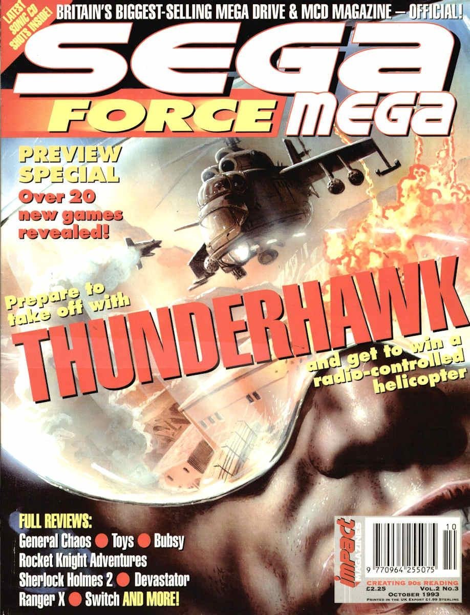 Sega Force Mega Issue 03