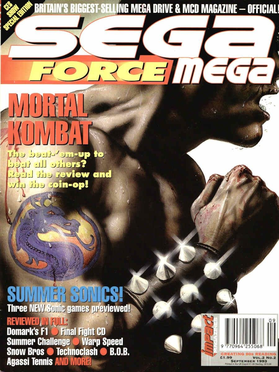 Sega Force Mega Issue 02