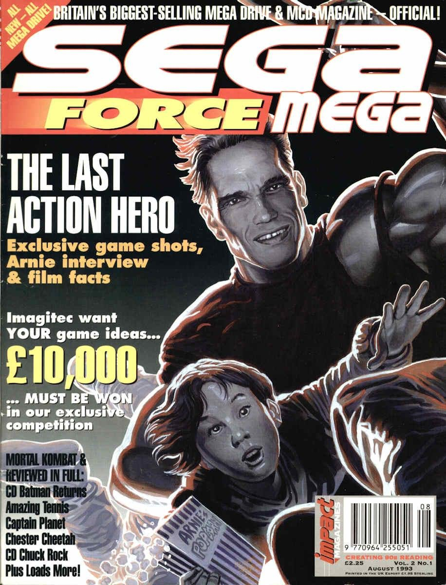 Sega Force Mega Issue 01