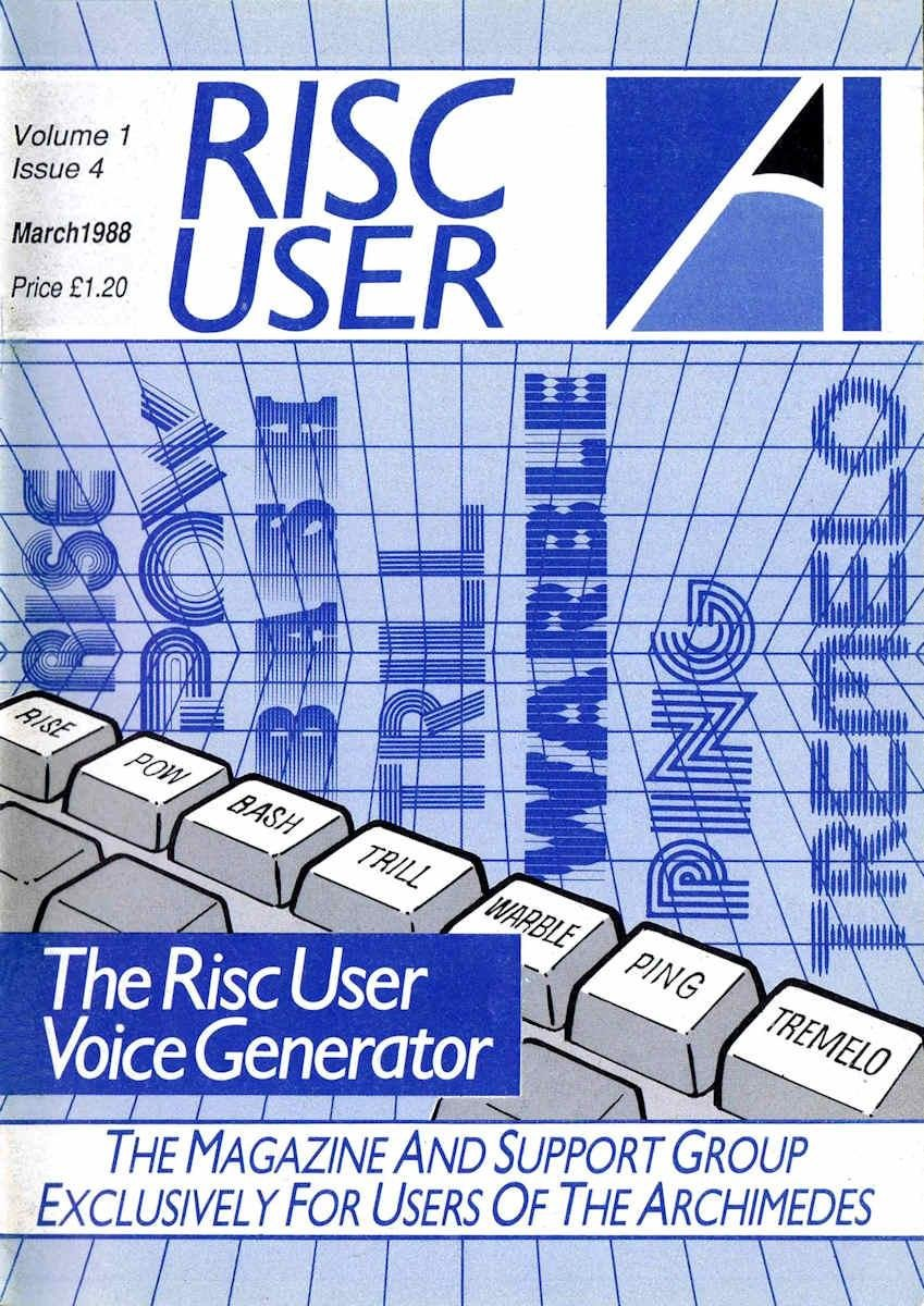 RISC User Issue 04