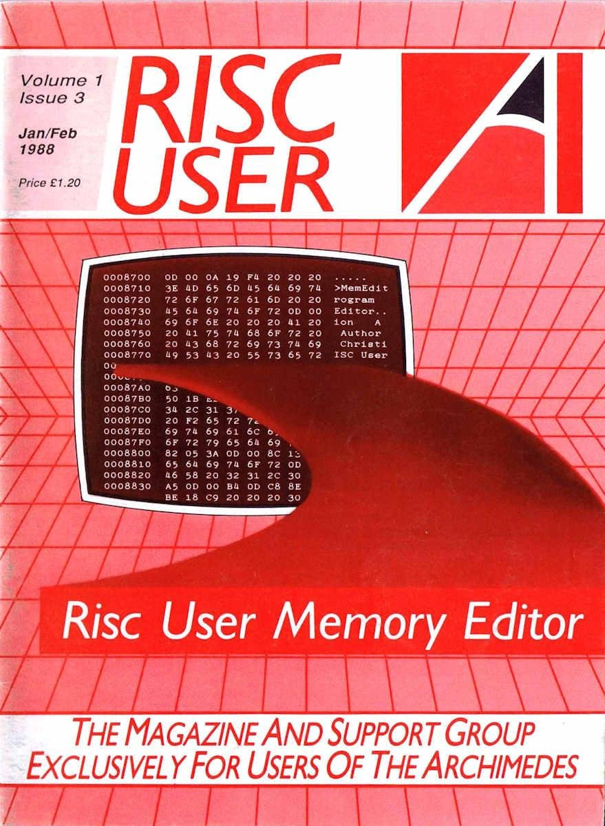 RISC User Issue 03
