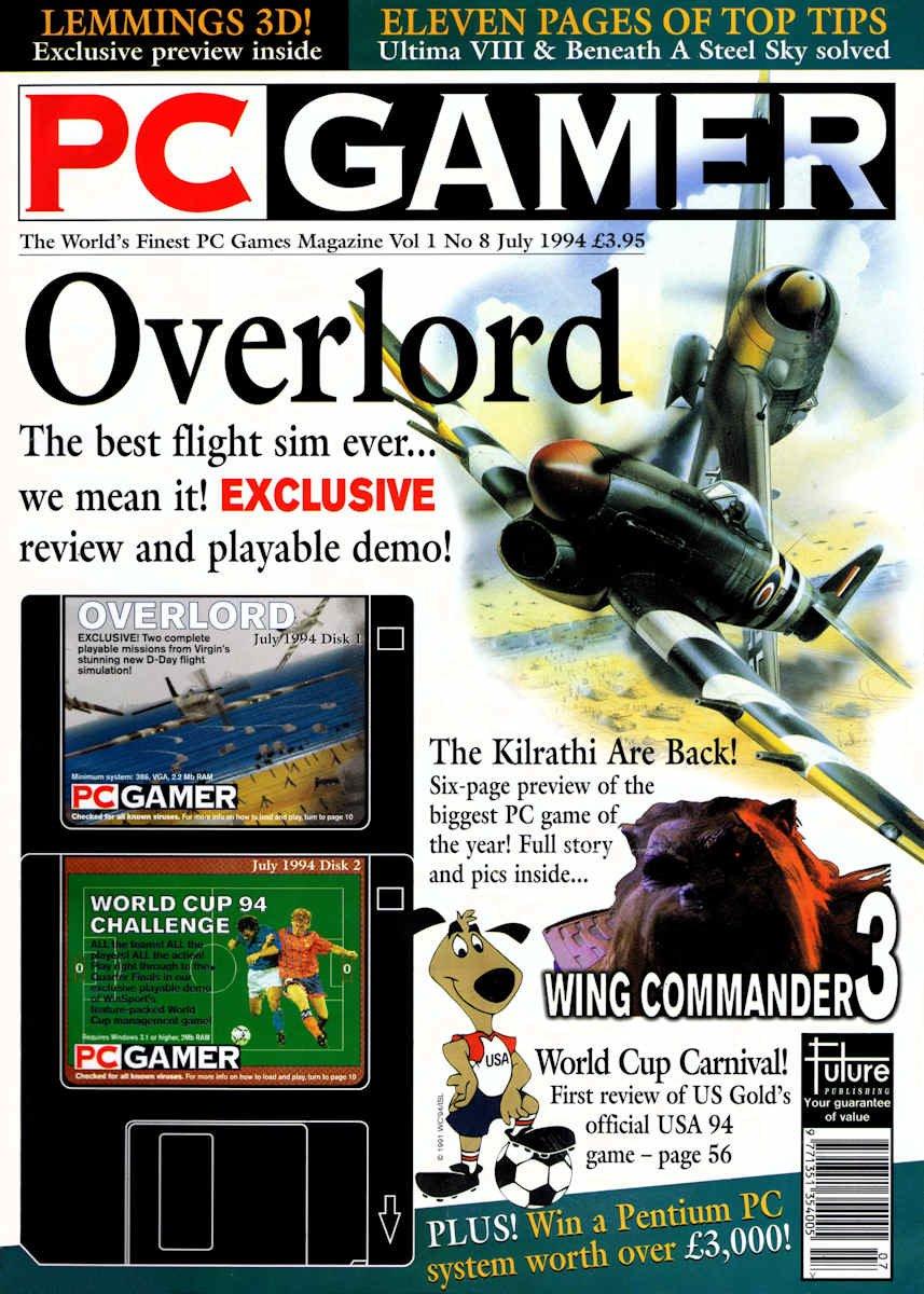 PC Gamer UK 008 July 1994