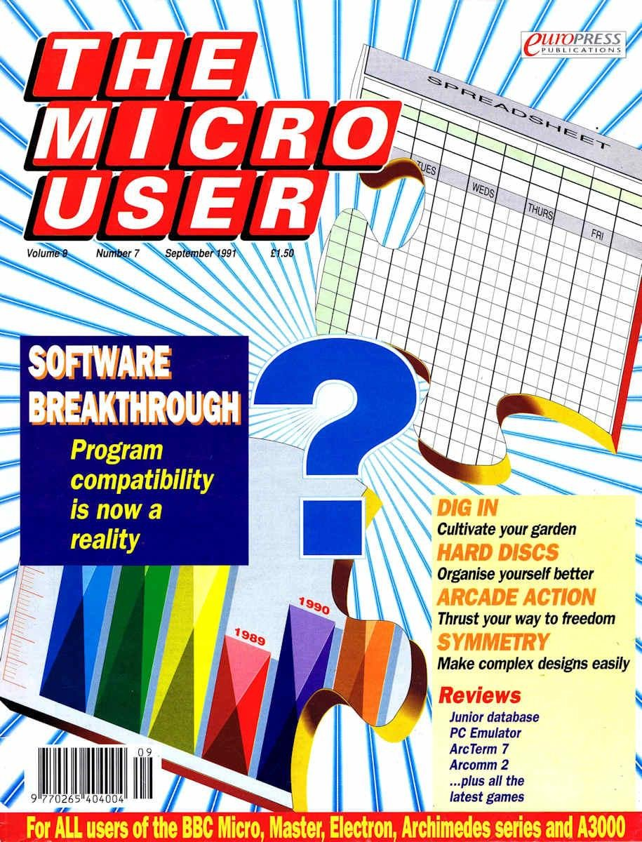 The Micro User Vol.09 No.07 (September 1991)