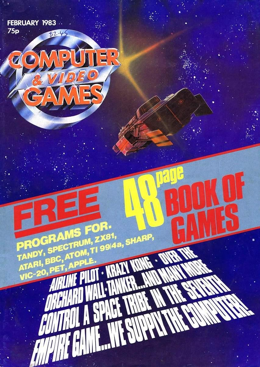Computer & Video Games 016 (February 1983)