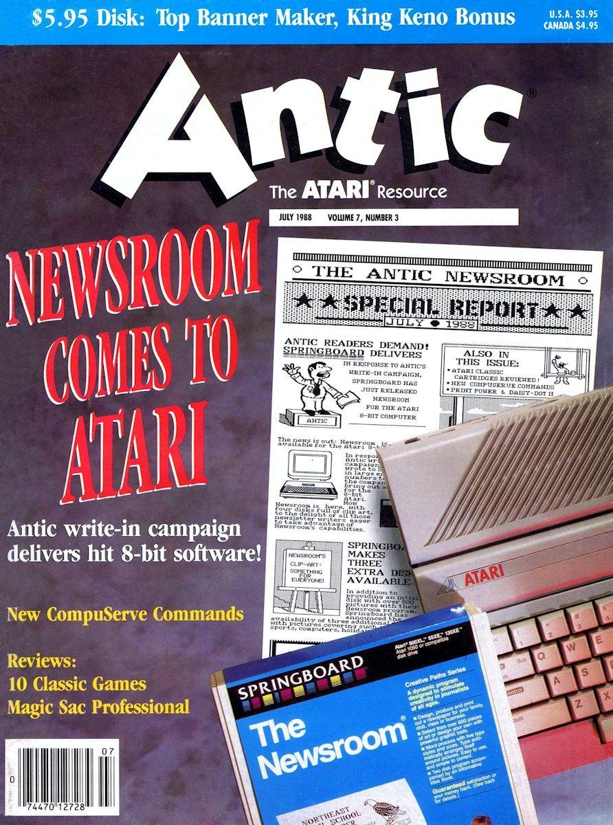 Antic Issue 069 July 1988