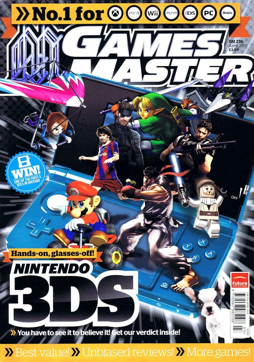 GamesMaster Issue 236 (April 2011)