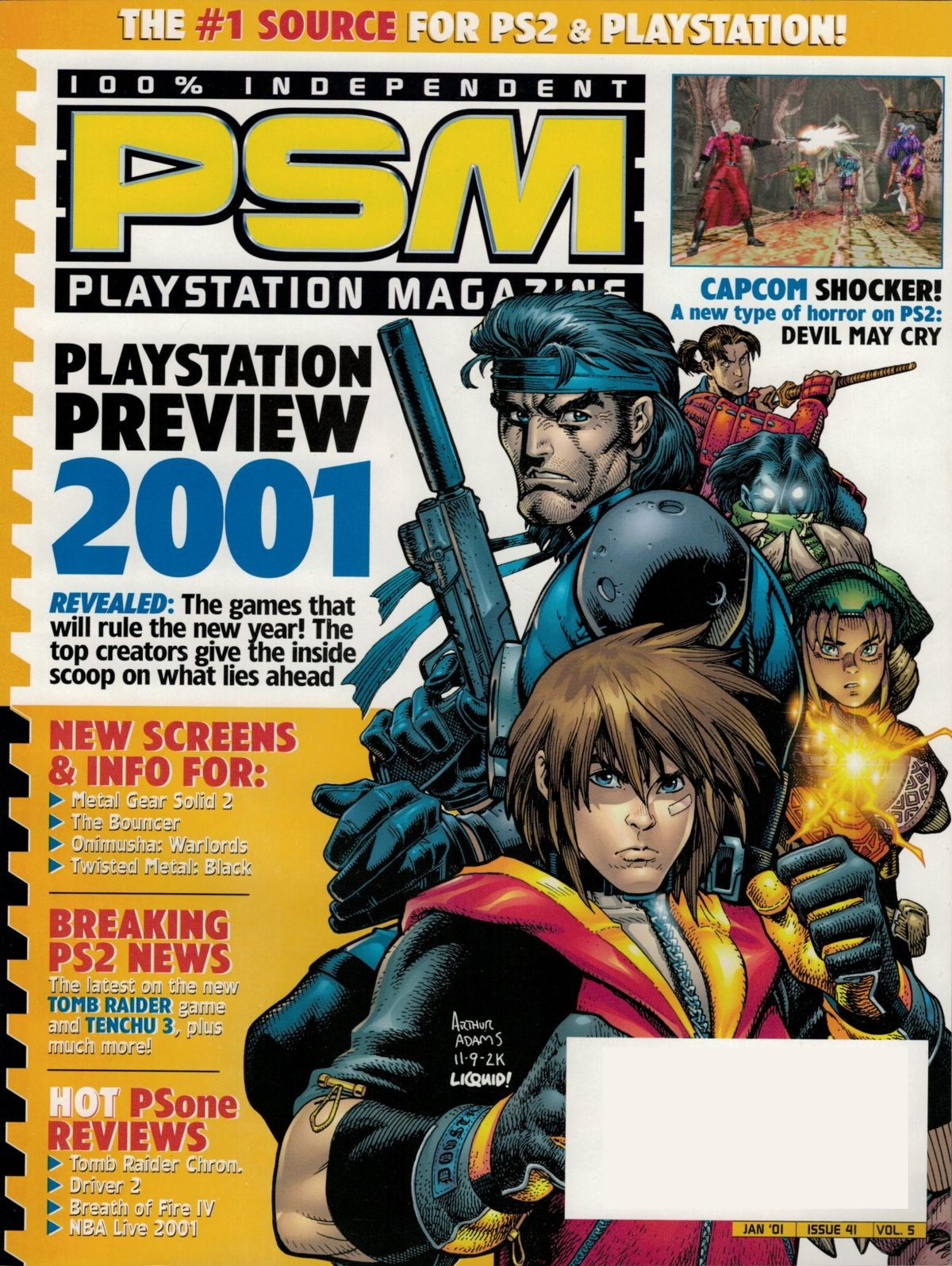 PSM Issue 041 January 2001