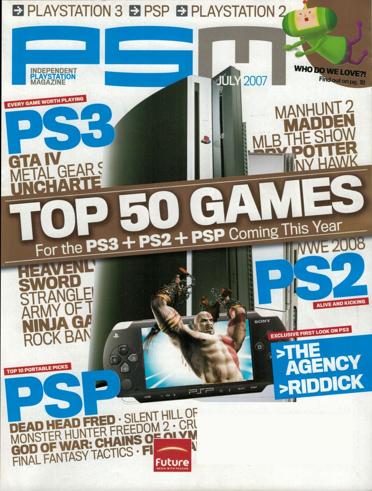 PSM issue 125 July 2007
