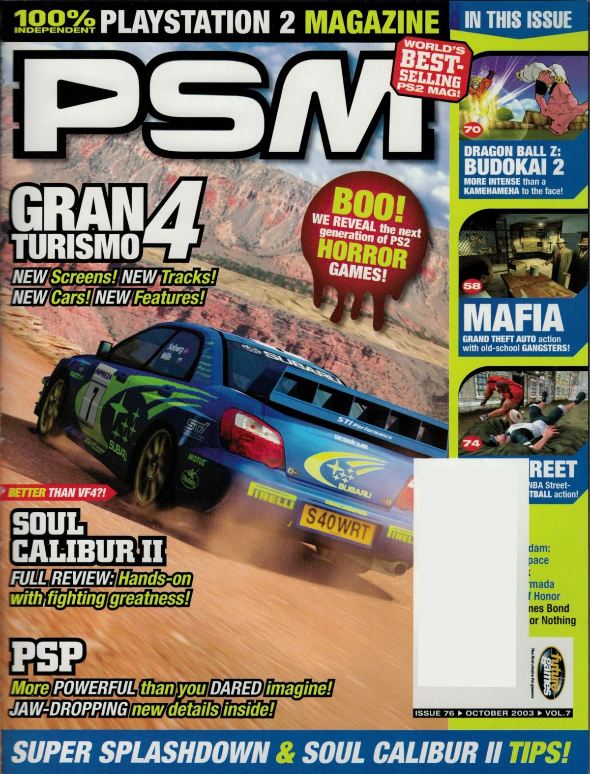PSM Issue 076 October 2003