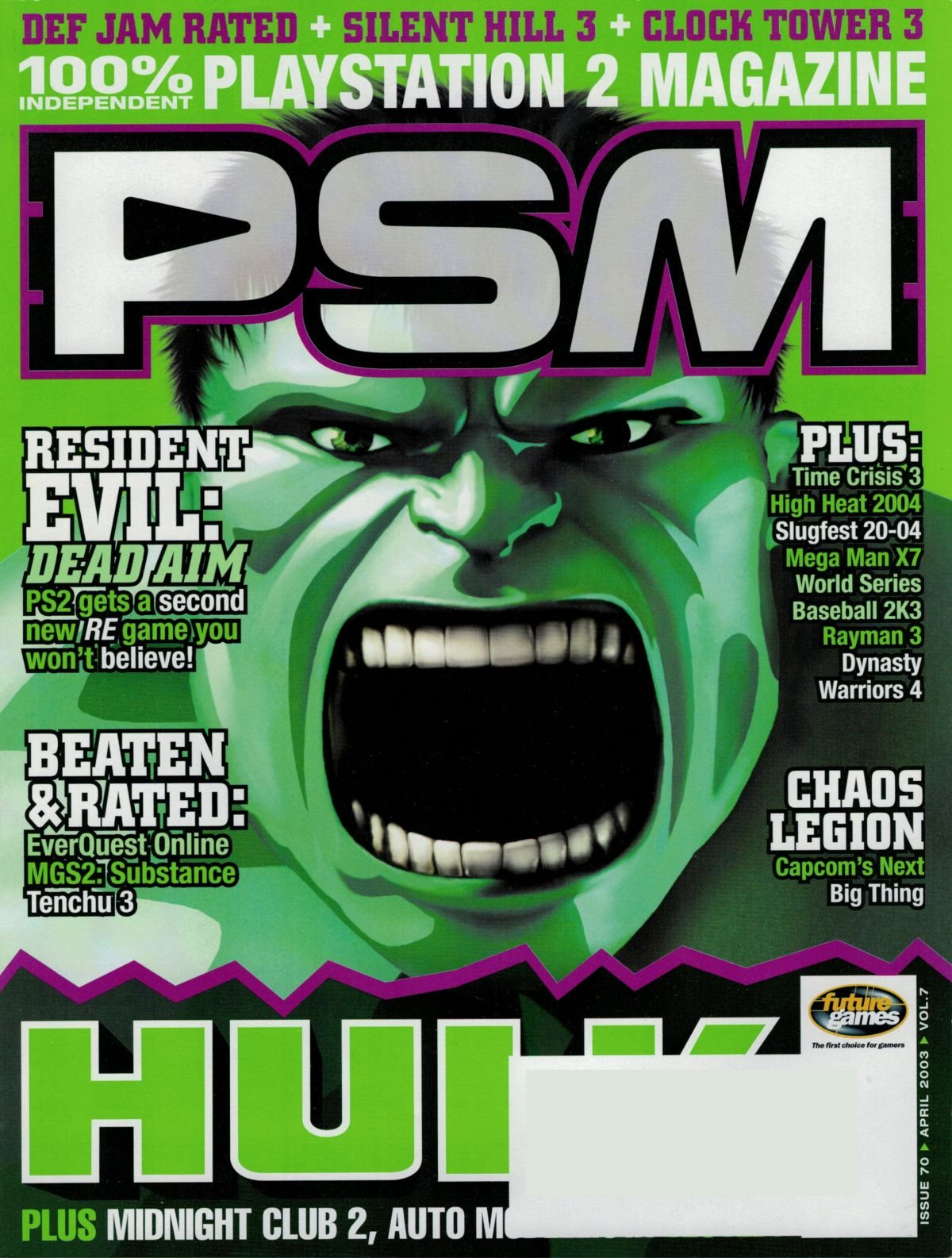 PSM Issue 070 April 2003