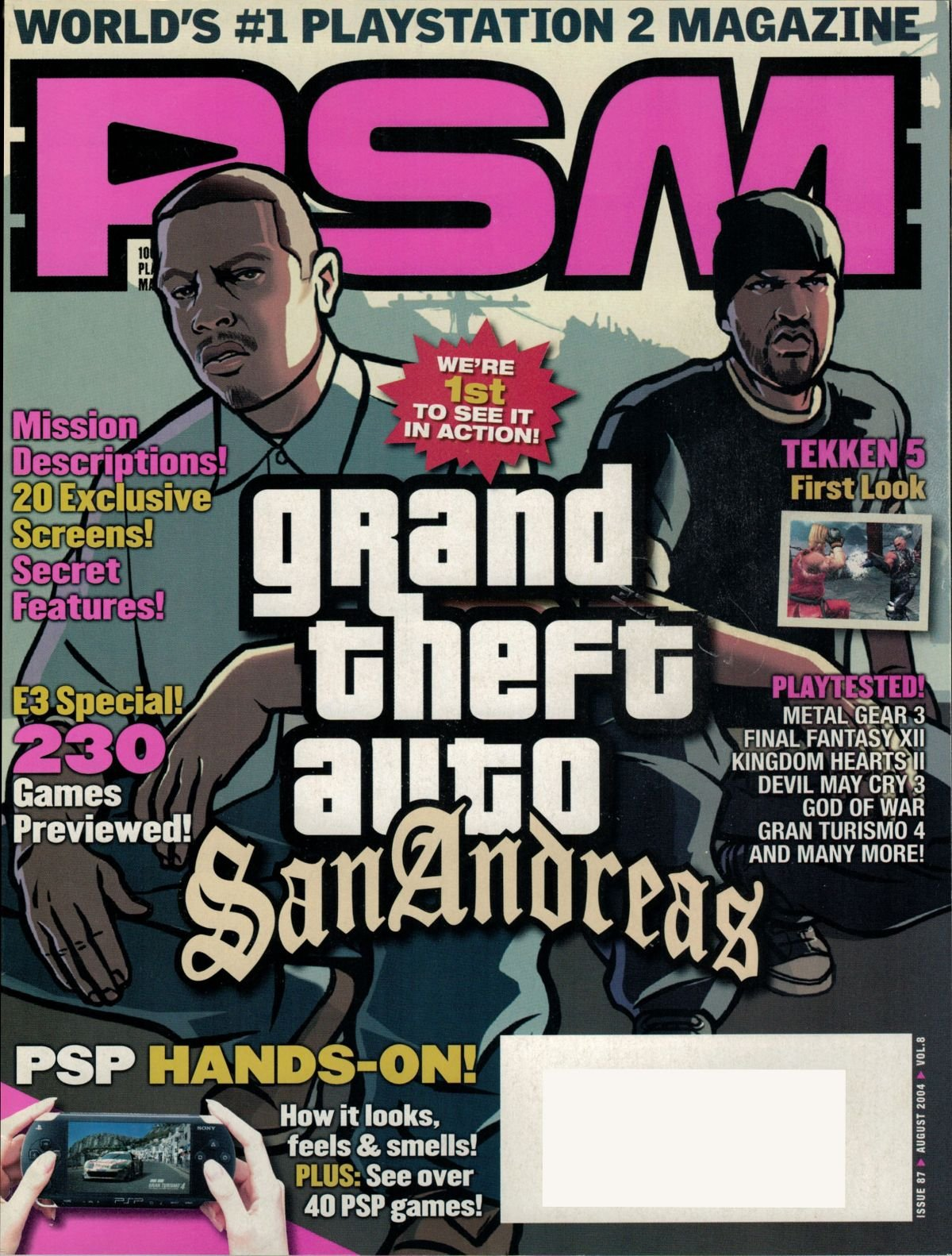 PSM Issue 087 August 2004