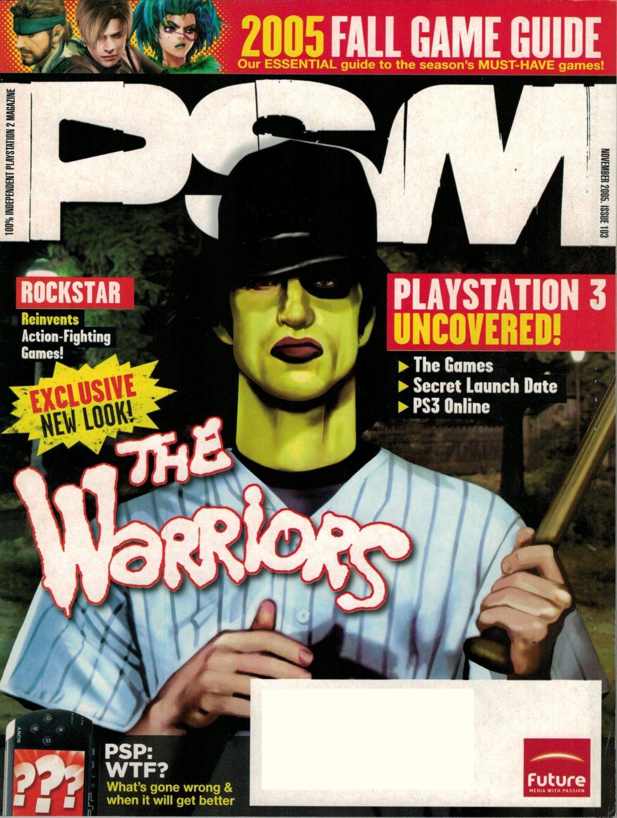 PSM issue 103 November 2005
