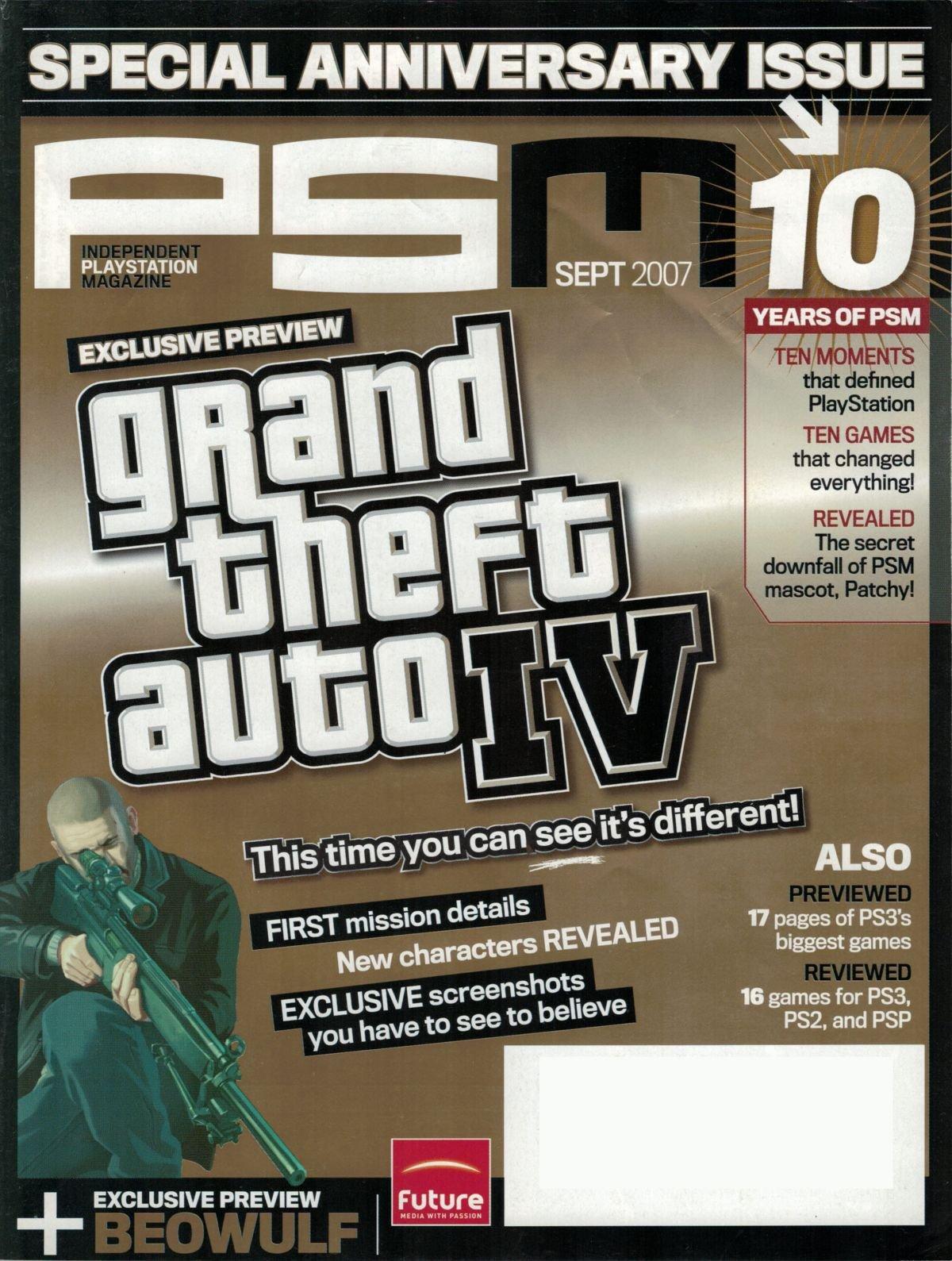PSM issue 127 September 2007