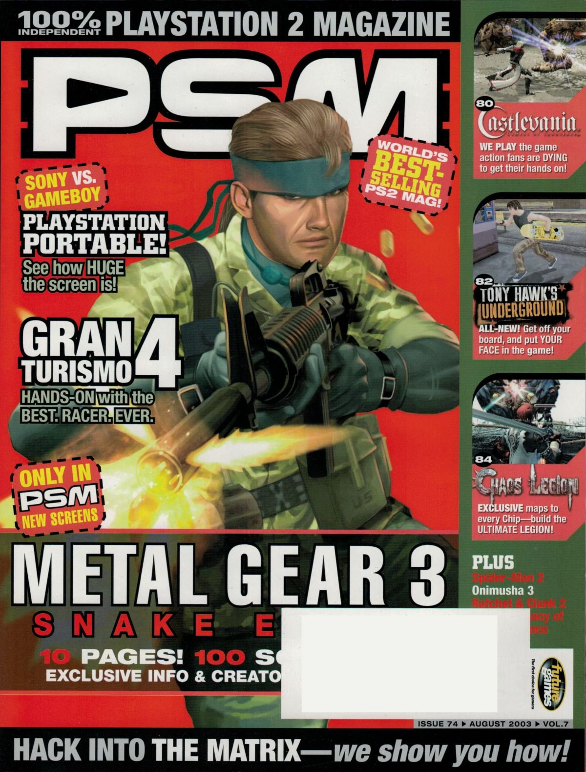 PSM Issue 074 August 2003
