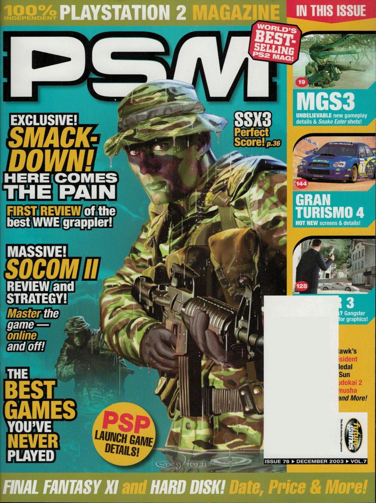PSM Issue 078 December 2003