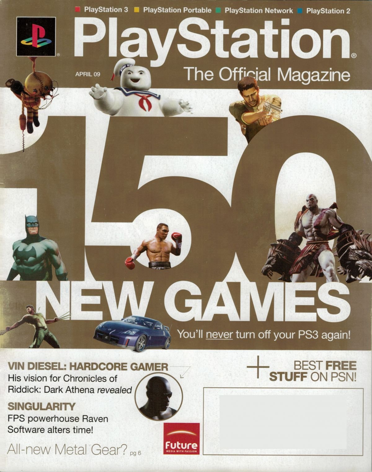 PlayStation The Official Magazine (USA) Issue 018 April 2009