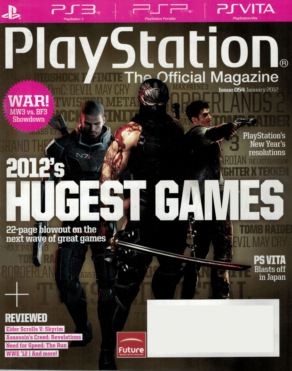 PlayStation The Official Magazine (USA) Issue 054 January 2012