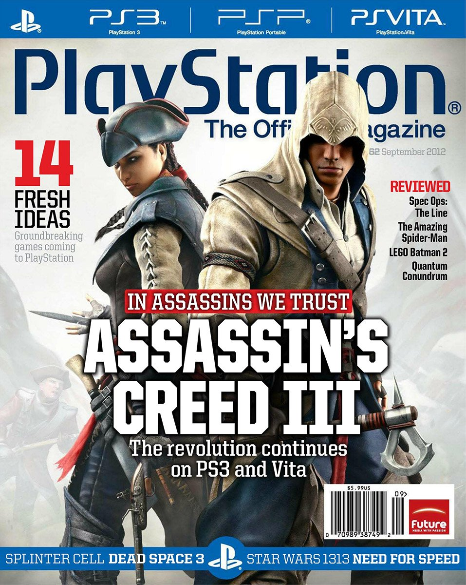 PlayStation The Official Magazine (USA) Issue 062 September 2012