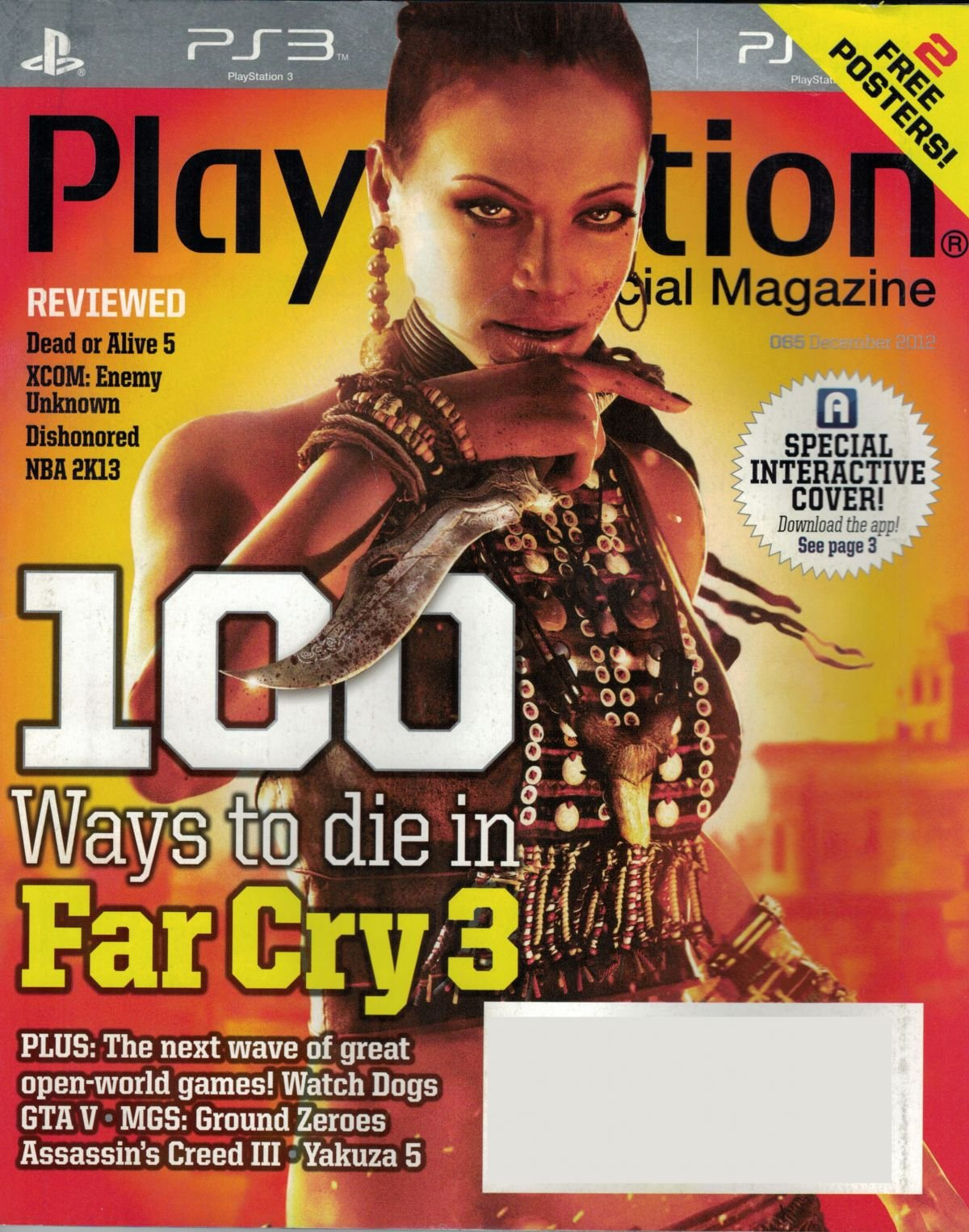 PlayStation The Official Magazine (USA) Issue 065 December 2012