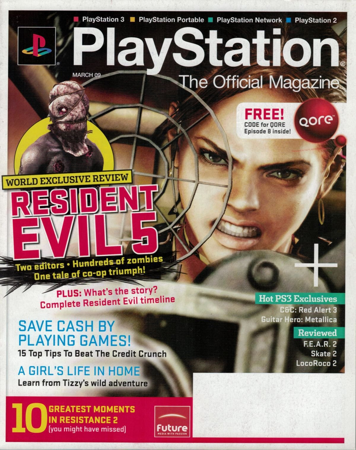 PlayStation The Official Magazine (USA) Issue 017 March 2009