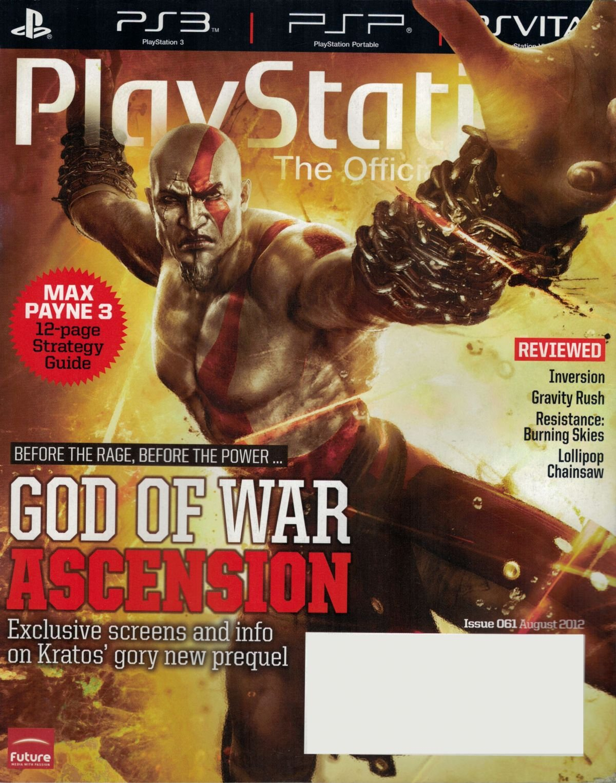 PlayStation The Official Magazine (USA) Issue 061 August 2012