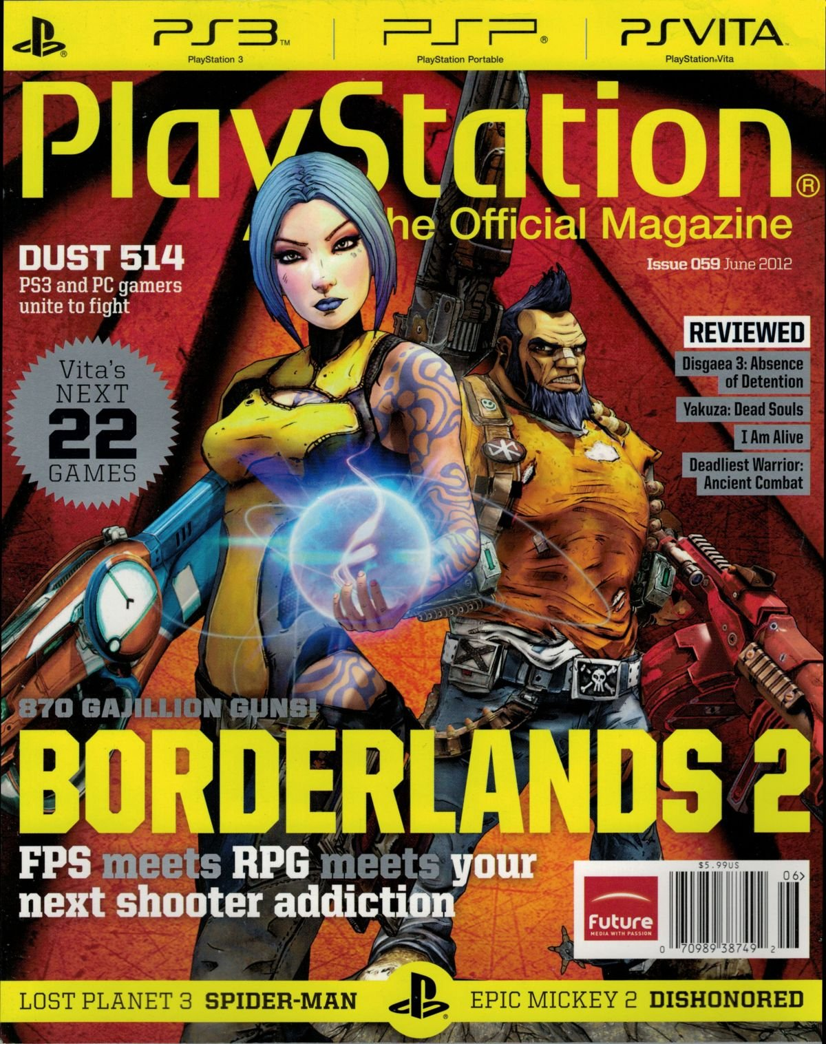 PlayStation The Official Magazine (USA) Issue 059 June 2012