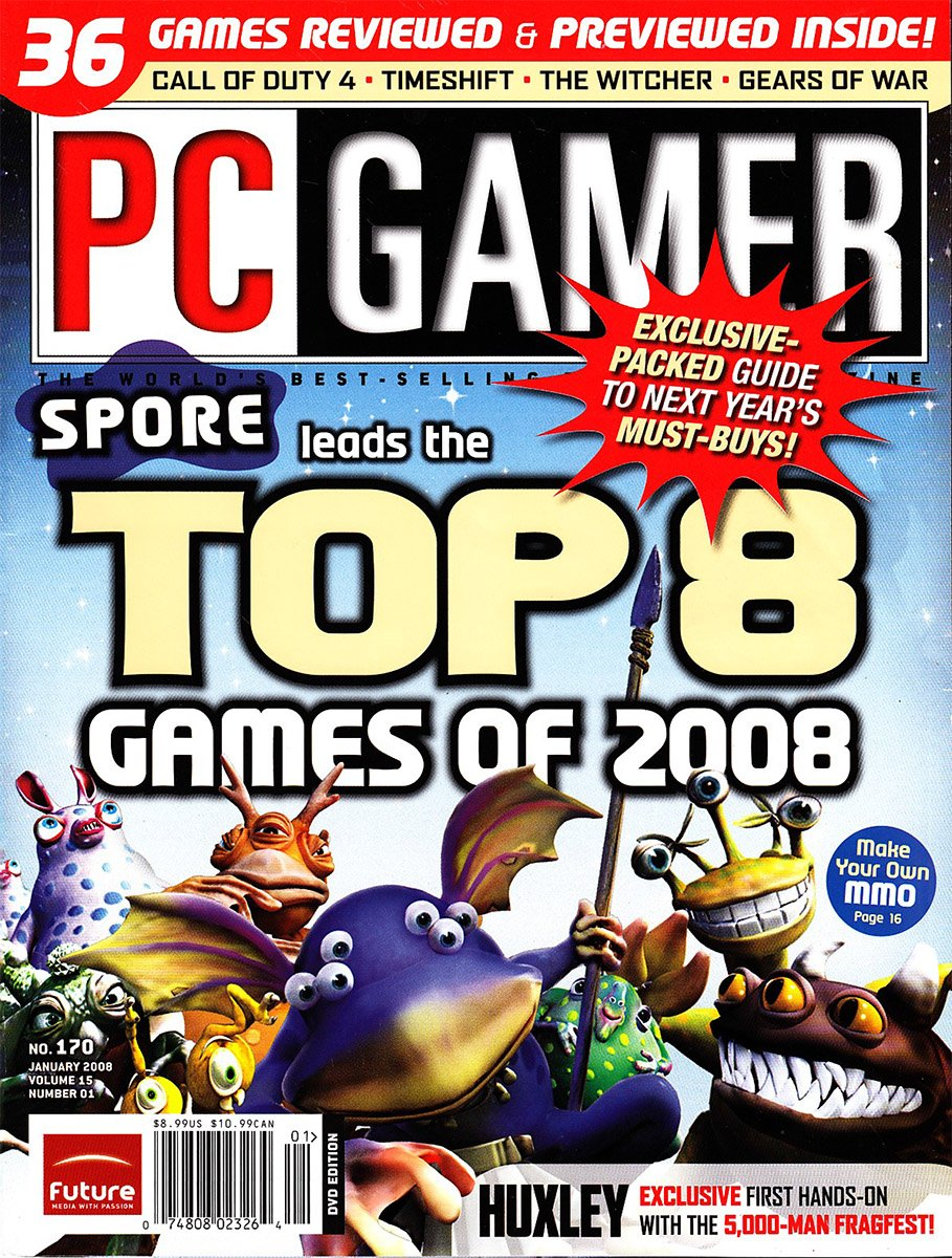 PC Gamer Issue 170 January 2008