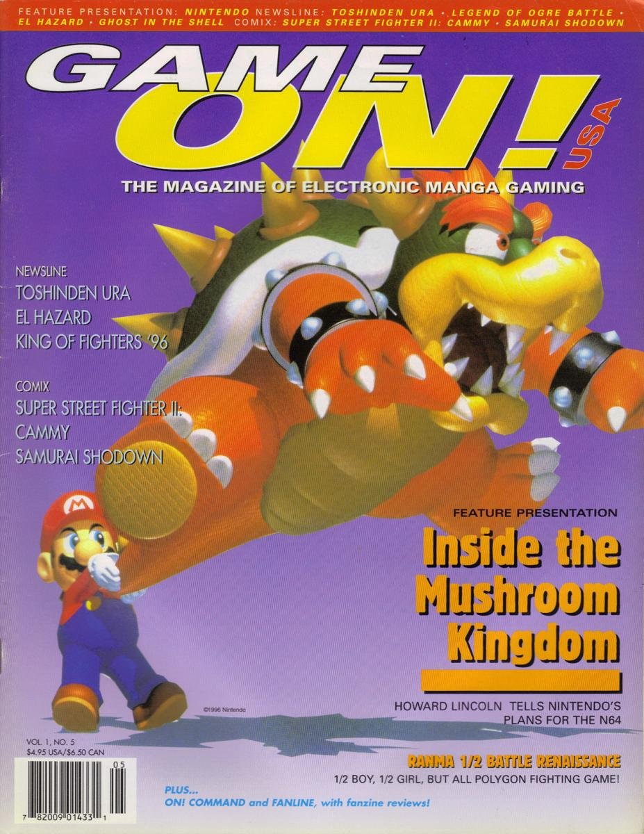 Game On! USA Issue 5