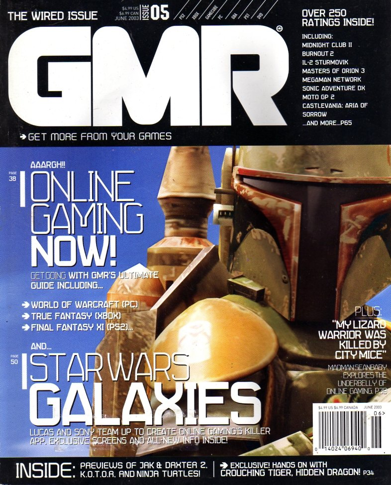 GMR Issue 05 June 2003 cover 2
