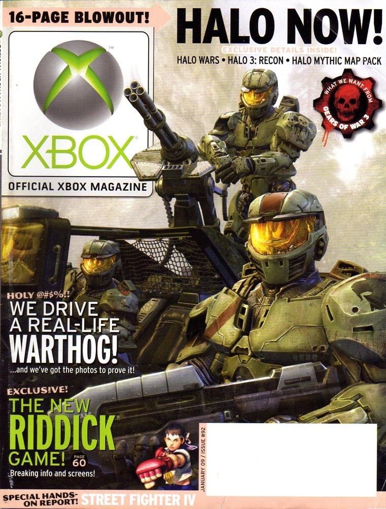 Official Xbox Magazine 092 January 2009