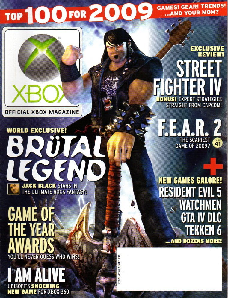 Official Xbox Magazine 093 February 2009